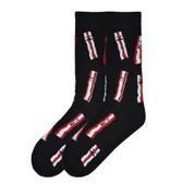 Men's Crew Socks Bring Home The Bacon
