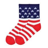 Women's Crew Socks American Flag