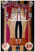 A Pentangle Cavalcade by Mcbiff Fine Art Print Retro Carnival Freakshow