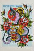 Cobra Tiger by Josh Persons Traditional Style Fine Art Print