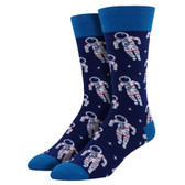 Men's Crew Socks Astronaut Navy Blue