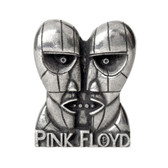 Pink Floyd Division Bell Heads Enamel Pewter Pin Rock and Roll Clothing Accessory PC502