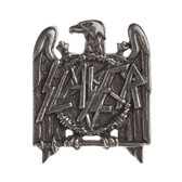 Slayer Seasons in the Abyss Eagle Logo Enamel Pewter Pin Rock and Roll Clothing Accessory PC504