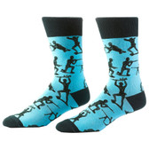 Men's Crew Socks Toy Army Men Soldiers