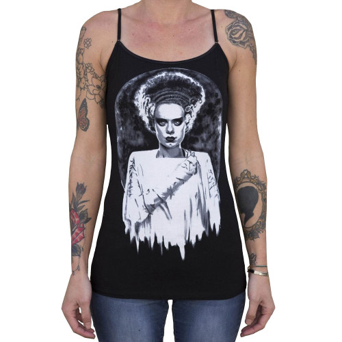 Monster's Bride by Shayne of the Dead Bohner Women's Camisole Tank Top Frankenstein Mummy