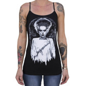 Monster's Bride by Shayne of the Dead Women's Camisole Tank Top Frankenstein Mummy