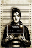 Mr. Vegas Elvis Presley Mugshot by Marcus Jones Screaming Demons Fine Tattoo Art Print