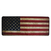 Men's Bi-Fold Wallet Vintage American Flag