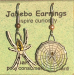 Garden Spider Earrings