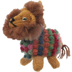 Lucuma Designs Lion - Alpaca Knitted Ornament