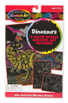 Melissa and Doug - Scratch Art Color-Reveal Pictures - Dinosaurs