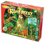 Melissa and Doug - Rain Forest Floor 100 pc