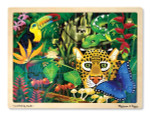 Melissa and Doug - Rainforest Jigsaw Puzzle - 48 Pieces