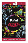 Melissa and Doug - Safari Scratch Art Boards
