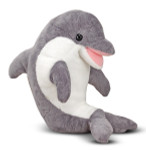 Melissa and Doug - Skimmer Dolphin Stuffed Animal