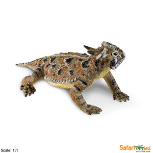Safari - Incredible Creatures Horned Lizard Replica