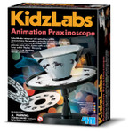 Animation Praxinoscope Science Kit - Build Your Own Animation Machine