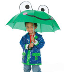 Child's Frog Stick Umbrella