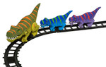 T Rex Express Train for Kids