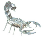 Samurai Scorpion Aluminum Model Kit OWI-352