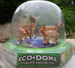 Eco Dome Deer Family Play Set