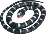 Wild Republic - 46 Inch Toy Rubber California King Snake