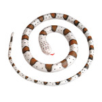 Adventure Planet - 72 Inch Toy Banded Rock Rattlesnake Replica