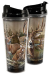 American Expedition Whitetail Deer Collage 24 oz. Tall Tumbler