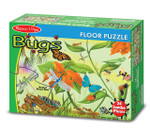 Melissa and Doug - Bugs Floor Puzzle - 24 Pieces