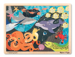 Melissa and Doug - Under the Sea Wooden Jigsaw Puzzle - 24 Pieces