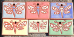 Handmade Dragonfly Christmas Ornament / Garden Tag, Rectangle