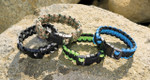 Survival Paracord Bracelet with Whistle