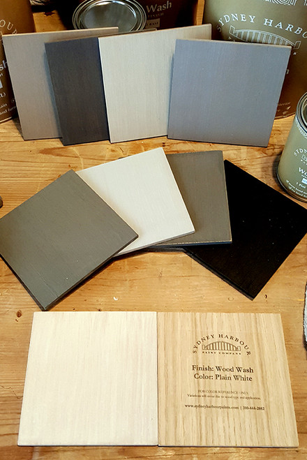Wood Sample Boards