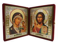 Icon of Our Lord Jesus Christ Diptych