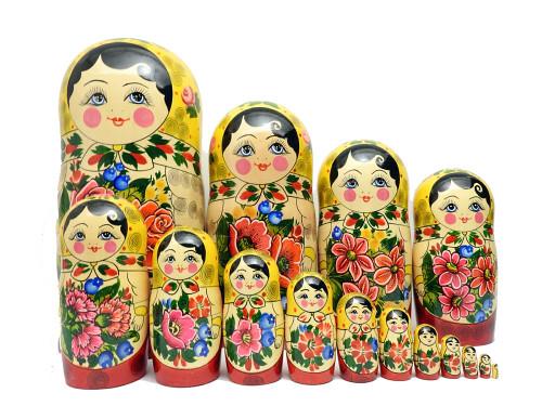 Semenov 16pc Matryoshka Doll