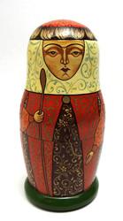 Medieval Artistic Matryoshka Doll