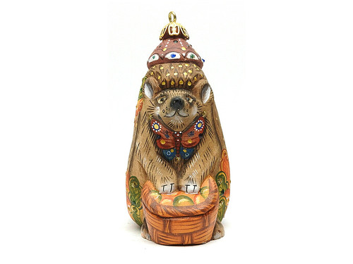 European Hedgehog Studio KIKIN Ornament