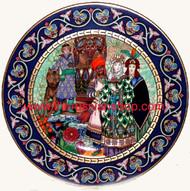 The Wedding of Tsarevna Elena the Fair (Villeroy & Boch) (No box)
