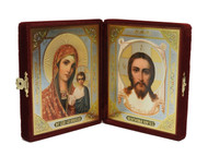 Icon Not Made  by Hands Diptych