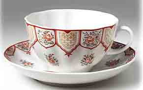 Терракотовая Фриз Terracotta Frieze Lomonosov Teacup and Saucer