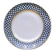 Cobalt Net Large Round Platter