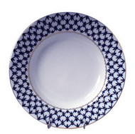 Cobalt Net European Rim Soup Bowl