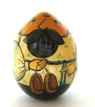 Easter Egg Dedushka's Lapti (Дедушкины Лапти) front view