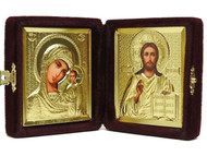 Diptych Icon/Burgundy Velvet Case