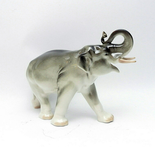 Gray Elephant Lomonosov Porcelain