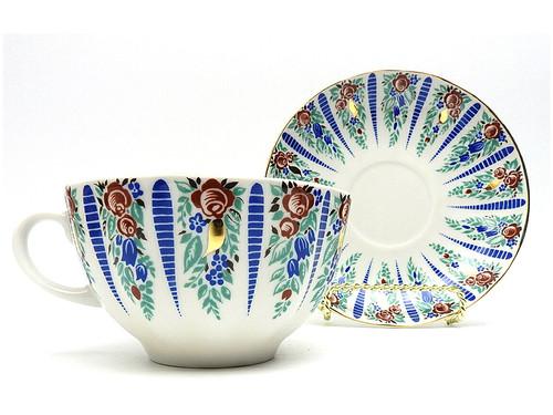 Sarafan (Сарафаны) Teacup and Saucer