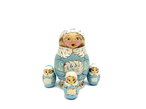 Snow Maiden Counting Toy