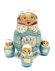 Snow Maiden Counting Dolls