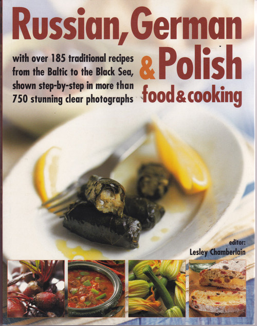 Russian, German and Polish Cookbook
