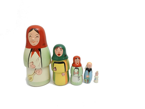 Matriarch from Poland Matryoshka Doll